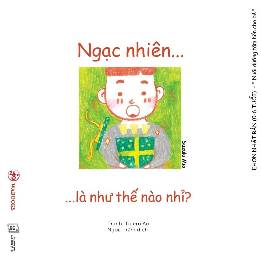 Combo 4 Cuốn Sách Ehon Điều Kì Diệu Của Cảm Xúc Cho Bé Từ