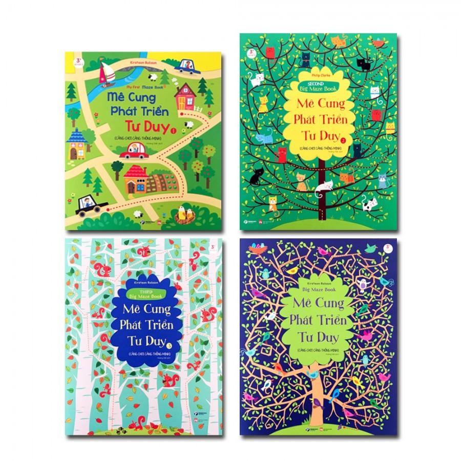 Combo 4 Cuốn Sách Mê Cung Phát Triển Tư Duy