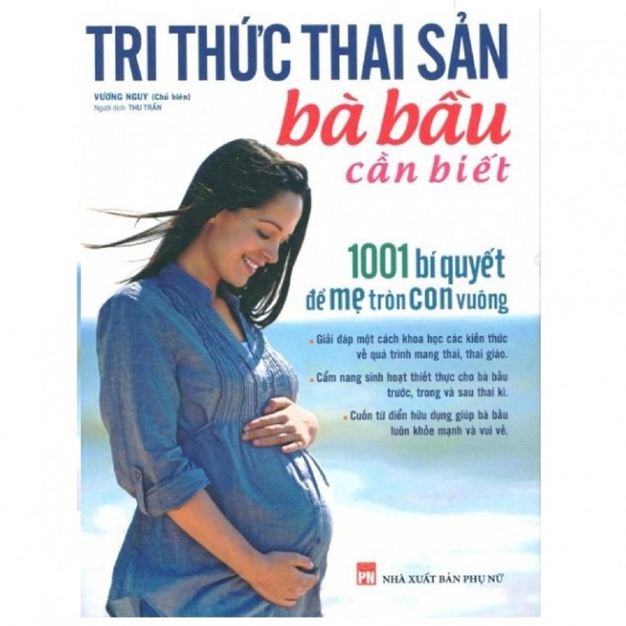 Sách Tri Thức Thai Sản Bà Bầu Cần Biết
