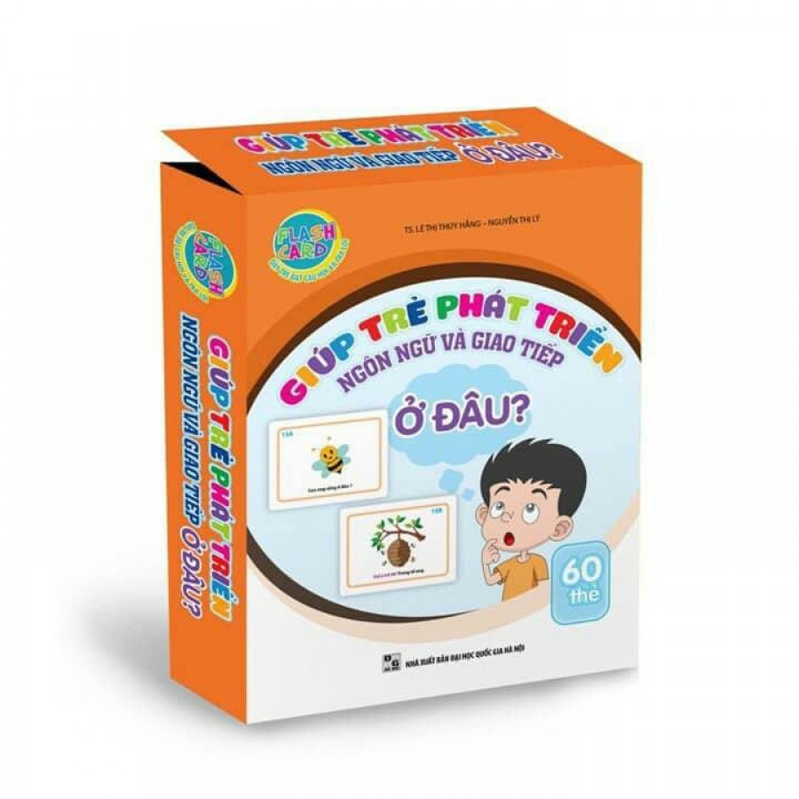 Thẻ Flash Card  Giúp Trẻ Phát Triển Kỹ Năng Giao Tiếp - Chủ Để Ở Đâu