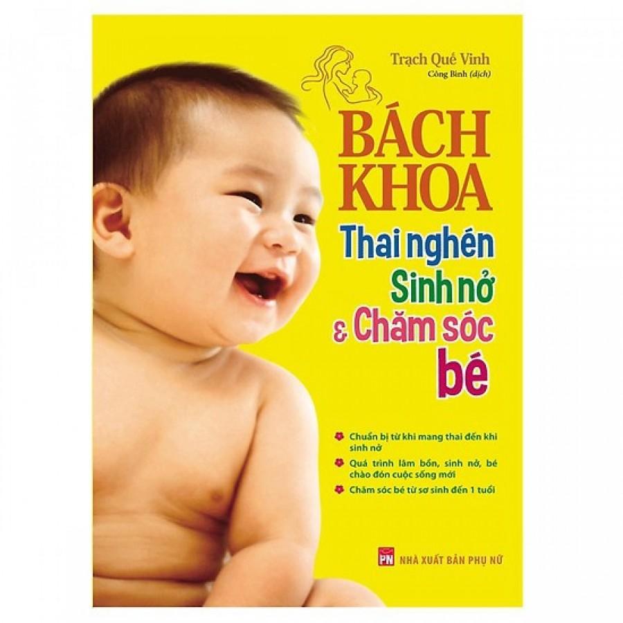 Combo: Bách Khoa Thai Nghén Sinh Nở & Chăm Sóc Em Bé Và Hành Trình Thai Giáo 280 Ngày
