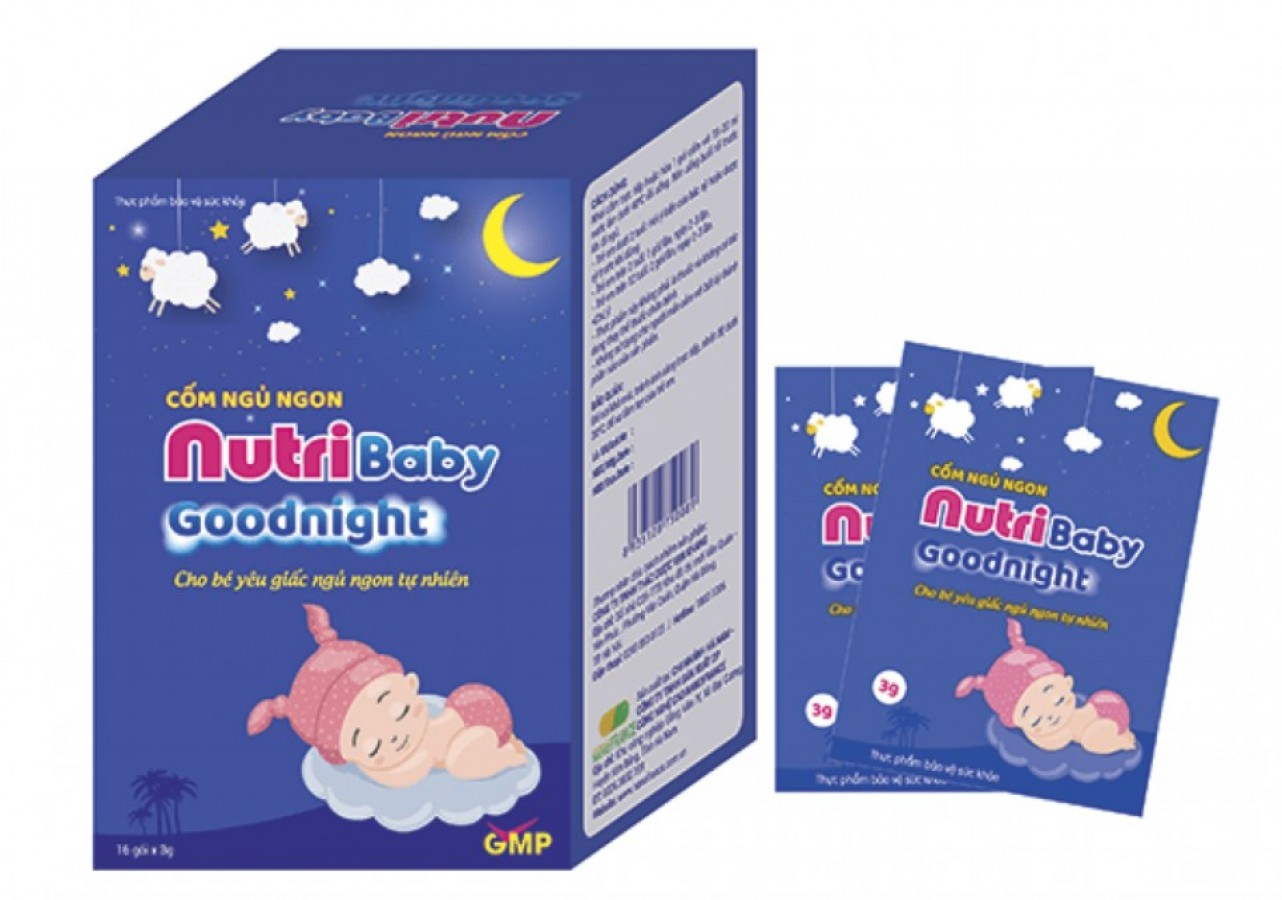 Cốm Hỗ Trợ Ngủ Ngon Nutribaby Goodnight