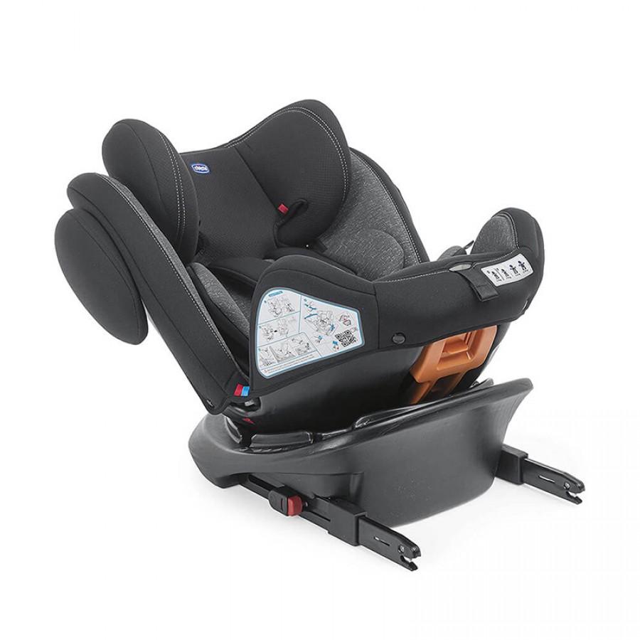 Ghế Ngồi Ô Tô Chicco Unico Plus Isofix Xoay 360 Độ Cho Bé Từ 0 - 12 Tuổi