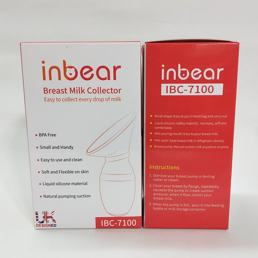Cốc Hứng Sữa Silicone Cao Cấp Inbear