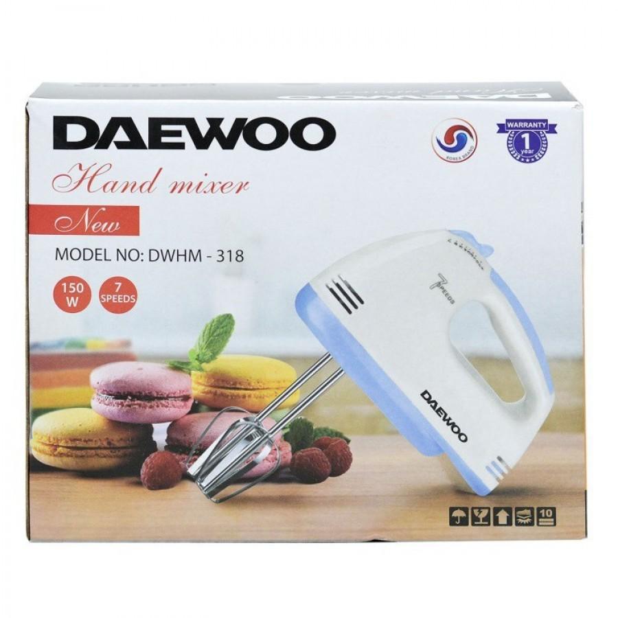 Máy Đánh Trứng Cầm Tay Daewoo DWHM -318