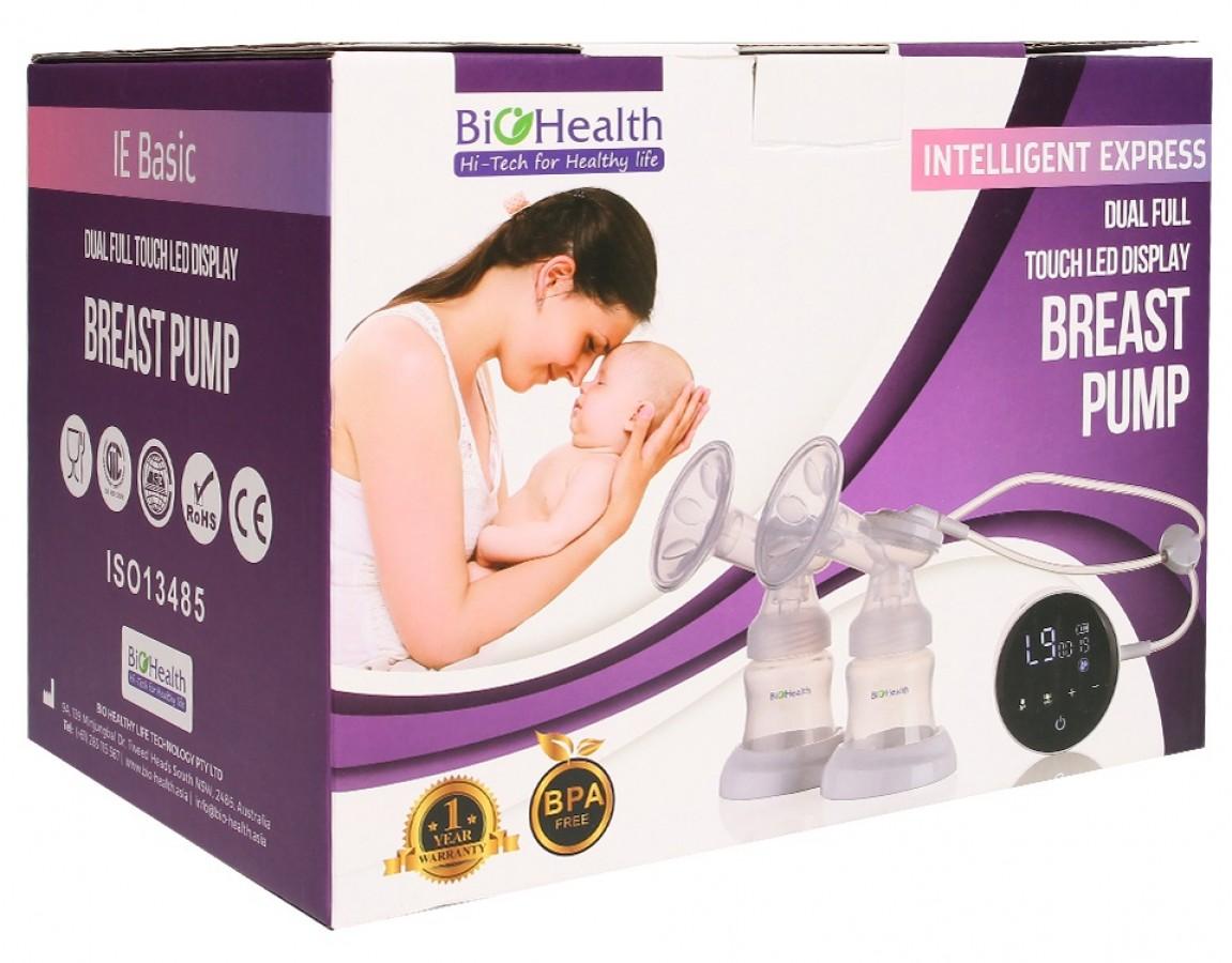 Máy Hút Sữa Điện Đôi Bio Health IE Basic
