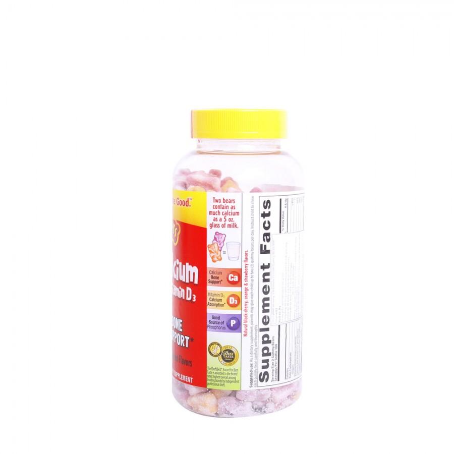 Kẹo Dinh Dưỡng Trẻ Em Gummy Bears Canxi 200v/lọ