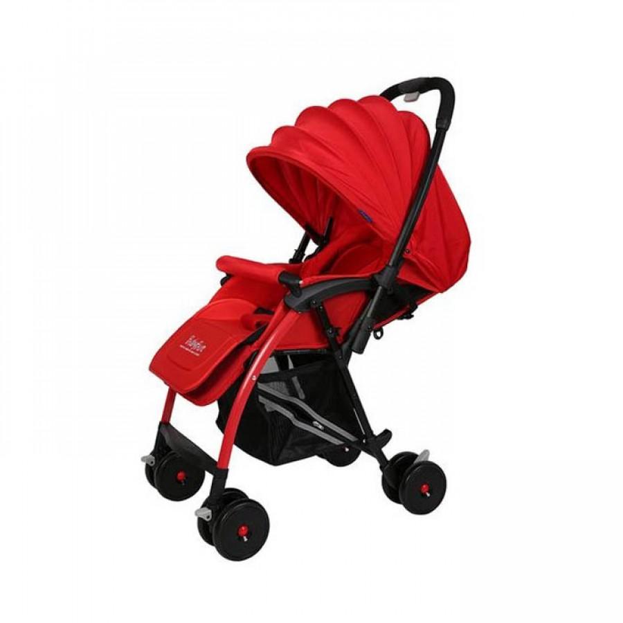 Xe Đẩy 2 Chiều Babybum F1 Màu Đỏ