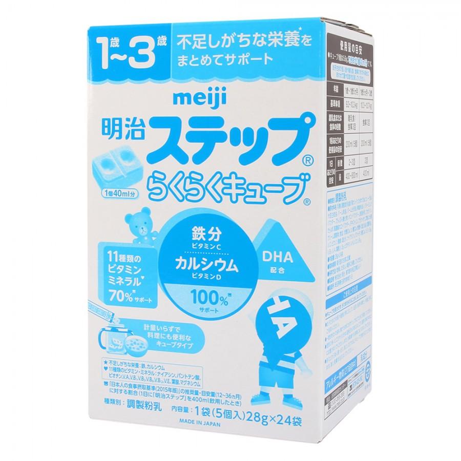 Sữa Meiji Số 9 Dạng Thanh Cho Trẻ 1 - 3 Tuổi