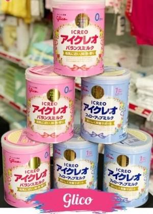 Sữa Glico Icreo