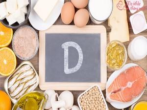 Vitamin D cho bé