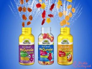 Vitamin & thực phẩm chức năng cho bé