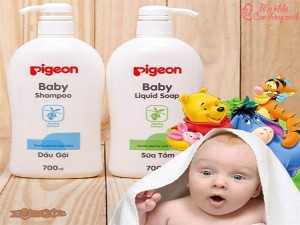 Sữa tắm, dầu gội cho bé