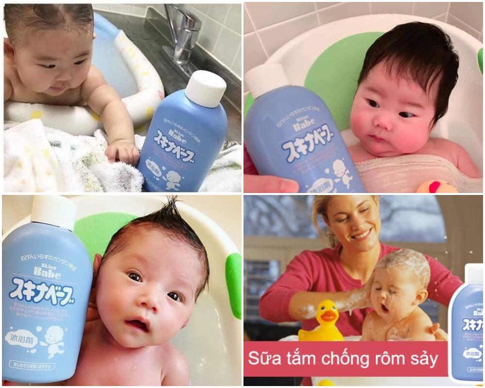 Sữa Tắm Hỗ Trợ Trị Rôm Sẩy Skina Babe 500ml Cho Bé được tin dùng và yêu thích bởi các mẹ và các bé