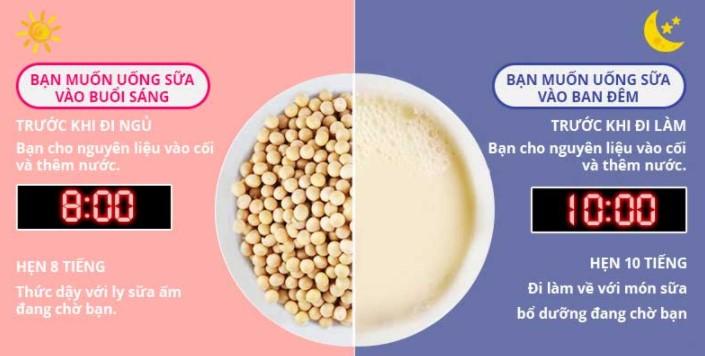 Máy Làm Sữa Hạt Đa Năng Ukoeo Pr5 Plus Phiên Bản Song Ngữ